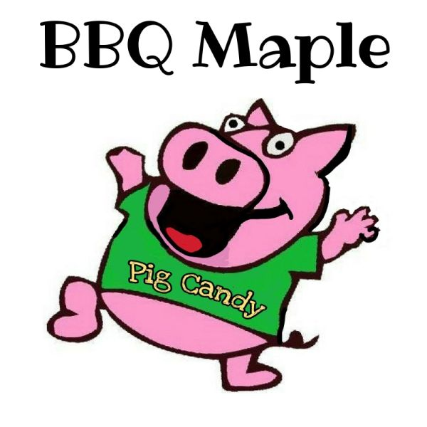 3 oz Pouch of BBQ Maple Pig Candy