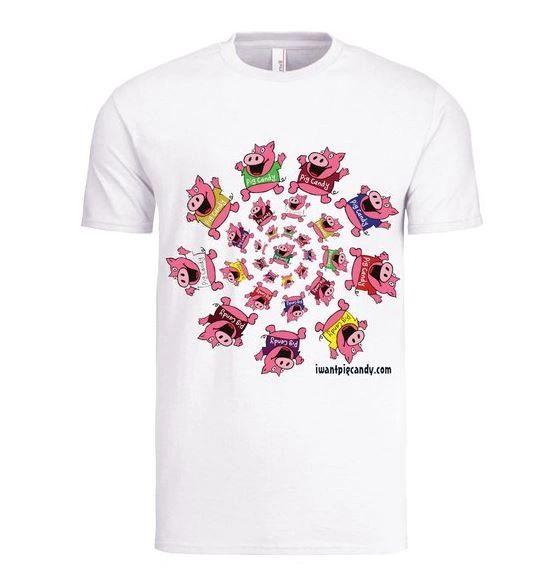 Circle of Pigs Tee Shirts