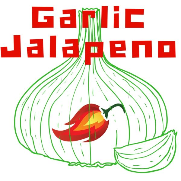 3 oz Pouch of Garlic Jalapeno Pig Candy