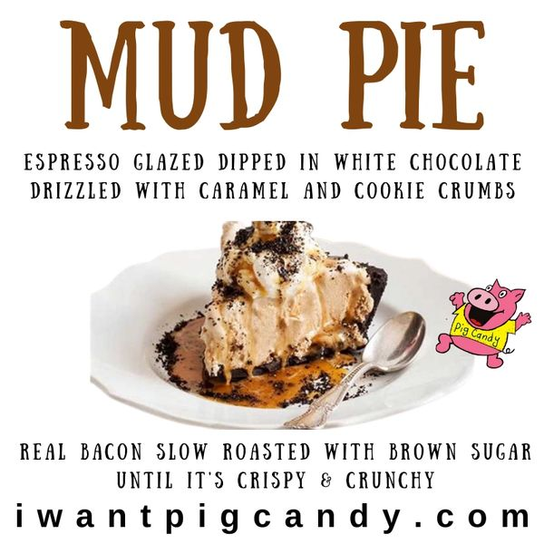 4 oz Mud Pie Chocolate Pig Candy