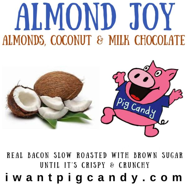 Almond Joy Pig Candy