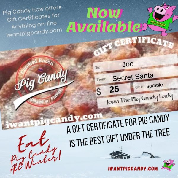 Gift Certificate for Pig Candy