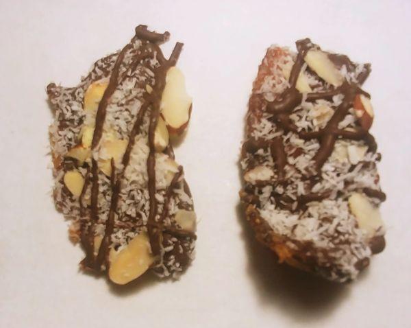 5 oz Almond Joy Chocolate Dipped Pig Candy