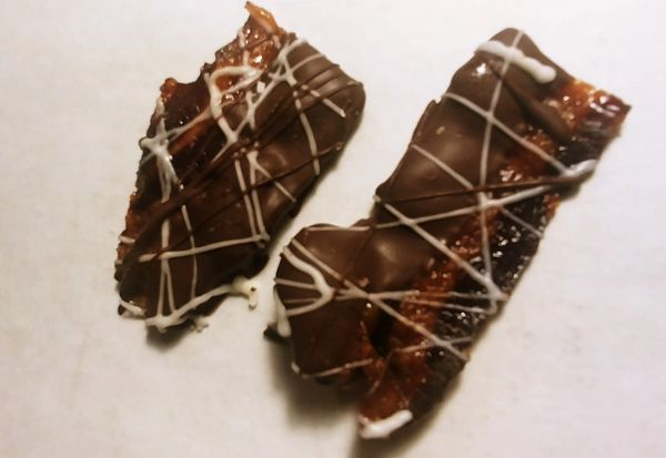 5 oz Chocolate Covered Pig Candy