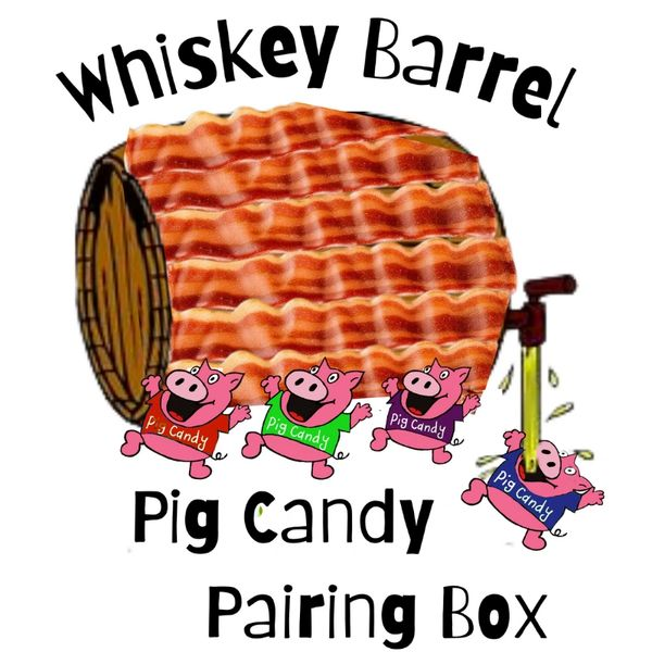 Whiskey Barrel Pig Candy Box Series 1