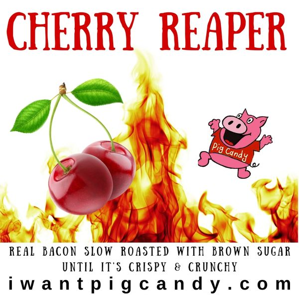 3 oz Cherry Reaper Pig Candy