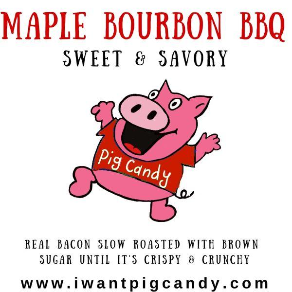 Maple Bourbon BBQ Pig Candy