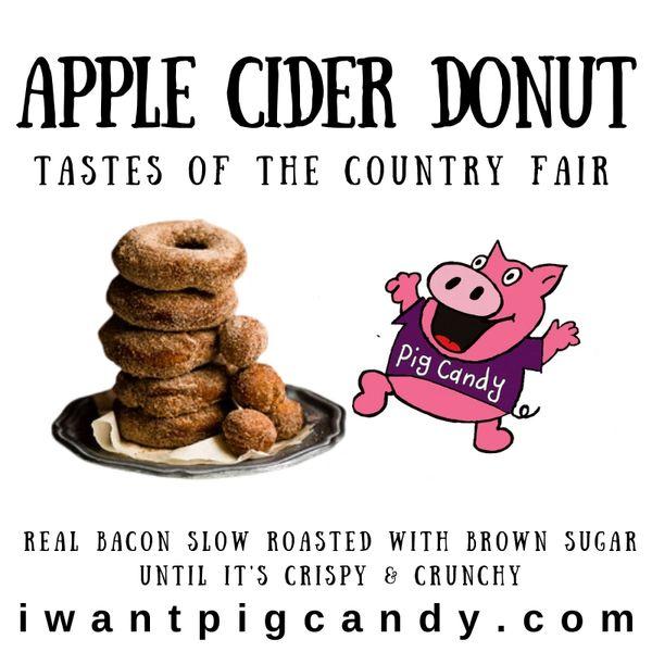 Apple Cider Donut Pig Candy
