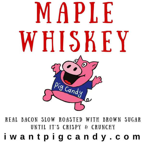 Maple Whiskey Pig Candy