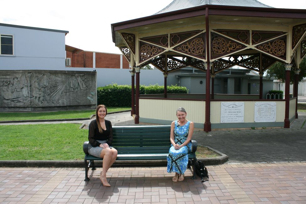 (L to R): Suzie Ninevski, Director A.I.R Recruitment and Sonia Hornery MP Wallsend Electorate.