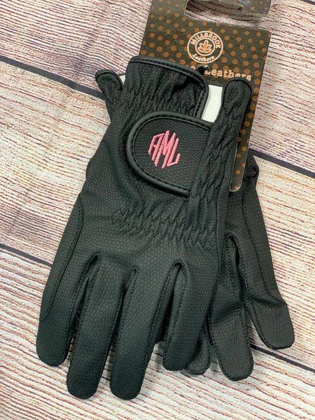 Custom Riding Gloves