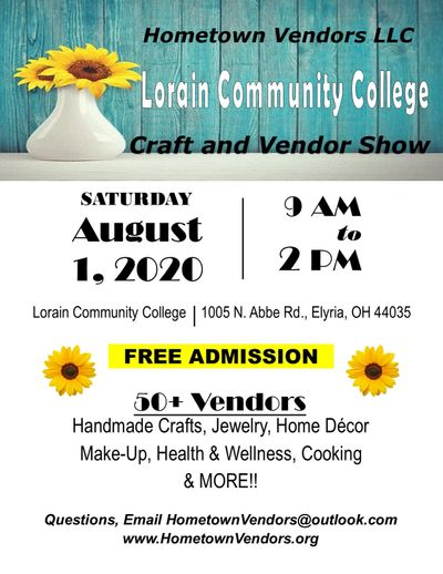 Hometown Vendors LLC Craft & Vendor Show @ Lorain Community College Spitzer Center