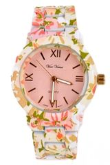 Floral Blossom Design Watch