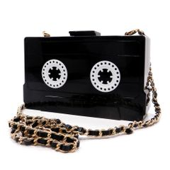 Video Tape Style Clutch