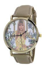 Magazine Print Fashion Watch