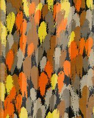 Orange and Yellow Satin Stripe Scarf
