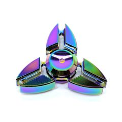 Tri Metal Fidget Spinner