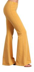 Amber Mineral Washed Bell Bottom Pant