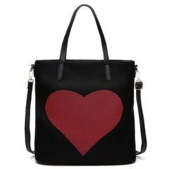 Mesh Heart Fashion Tote