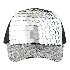 Mix Sequins Fashion Cap