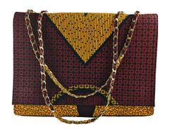 Handmade Ankara Print Fashion Handbag, NNEOMA