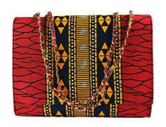 Handmade Ankara Print Fashion Handbag,KELECHI