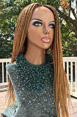 Handmade Cornrow Box Braided Wig Color 27, 26 Inches