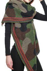 Trendy Oversize Camouflage Scarf