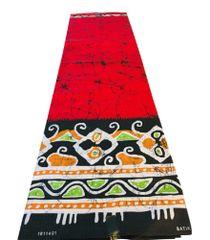 Ankara Print Fabric 6 Yards, Red Multi