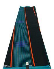 Ankara Print Fabric 6 Yards, Blue and Black