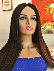 Handmade Micro Twist Wig Color 33, 26 Inches
