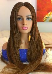 Micro Twist Wig, Color 30, 27, 39j Mix 30 Inches