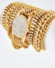Watch Style Wrap Bracelet