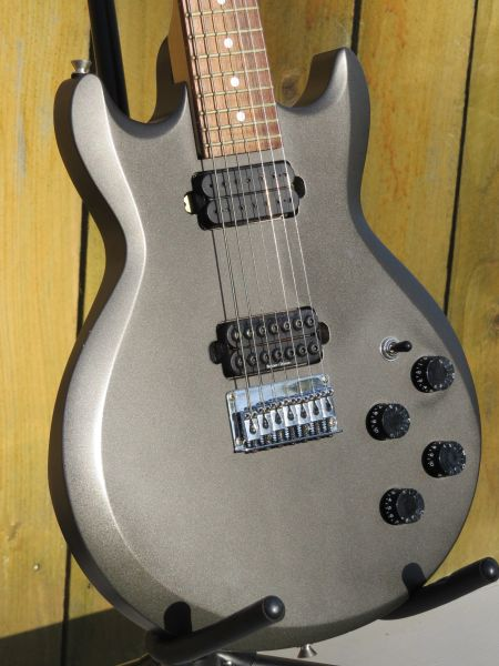 Ibanez 7 string electric guitar with Seymour Duncan and DiMarzio pickups