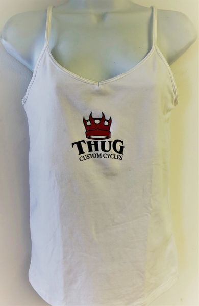 THUG Tank Top White