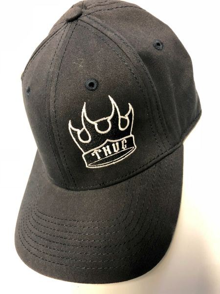 THUG Flex Fit Navy Blue w/ Black Crown