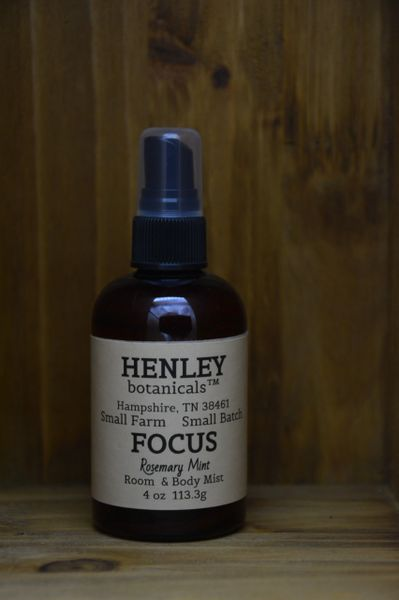 Focus Rosemary Mint Room & Body Mist