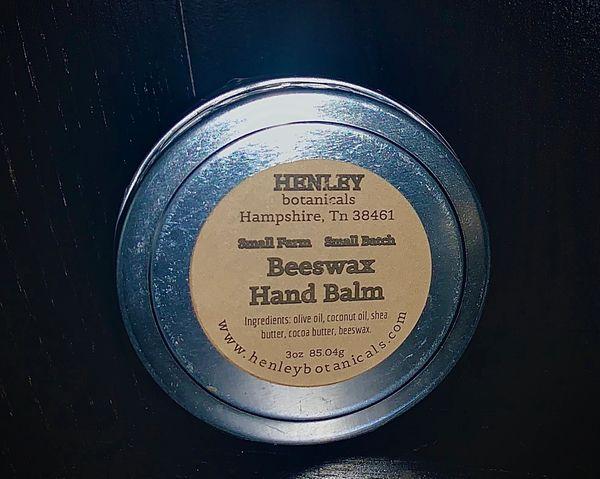 Beeswax Hand Balm
