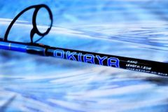 "OKIAYA Carbon ""NANO SERIES"" 30-50LB Spinning Rods"