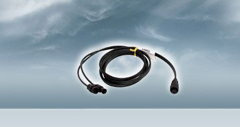 Transducer Y-Cable, 10-Pin (F) to 10-Pin (M) and 6-Pin (M)