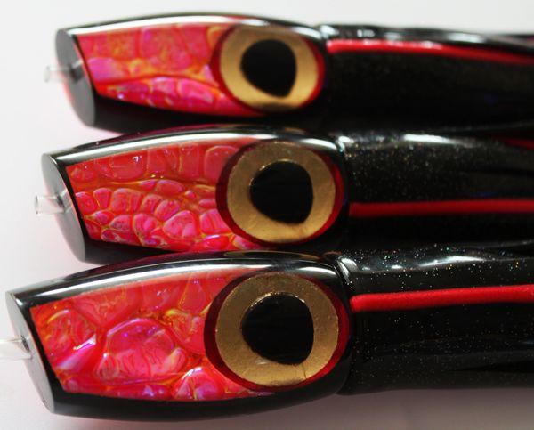 3. Prometheus Pink & Black DragonHide Plunger