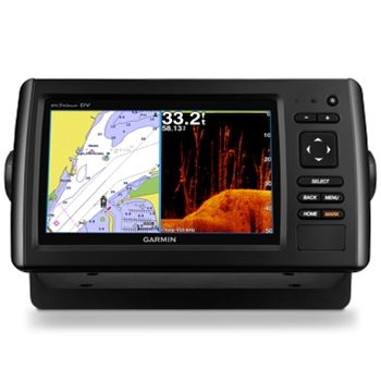 Garmin echoMAP CHIRP 74cv with ClearVu Transducer