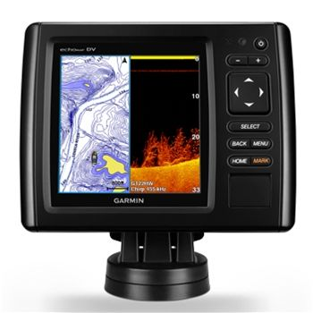 Garmin echoMAP CHIRP 53cv with ClearVu Transducer