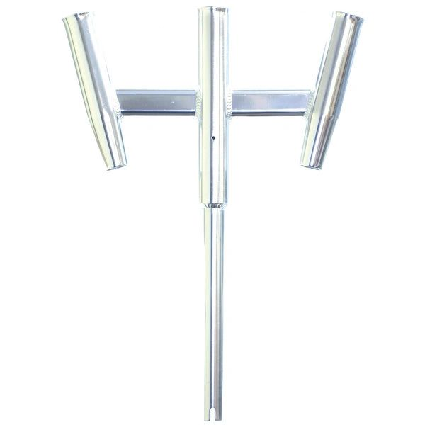 Triple Aluminum Straight Butt Kite Rod Holder 88159