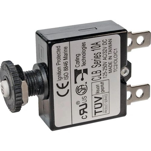 Push Button Circuit Breaker