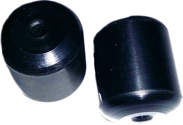 Black Polyethylene Ball Stops