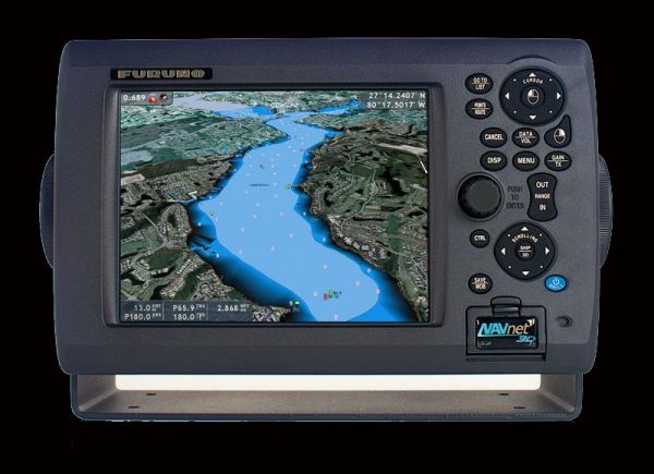 "MFD8 8"" FishFinder/G.P.S./Chartplotter/Radar Display"