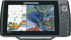 Humminbird Helix 9 CHIRP GPS/Chartplotter/Fishfinder W/Transducer