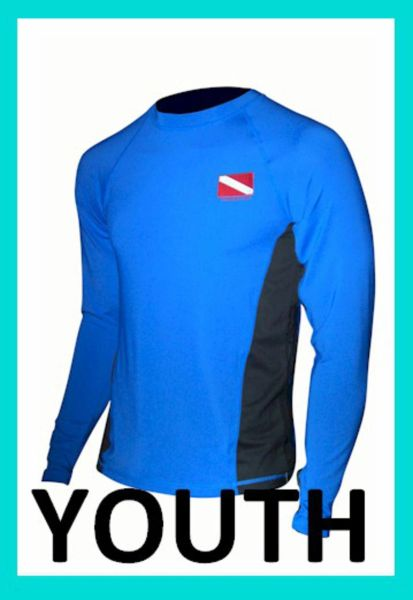 Youth SPF-50 Performance Shirt Rash Guards