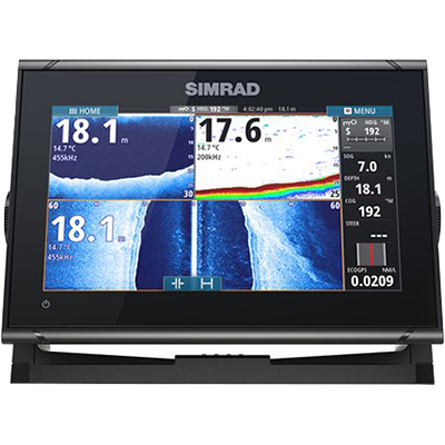 Simrad GO9 XSE Chatplotter/Fishfinder with Radar Display